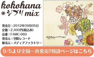 心花~kokohana~ 25絃箏ユニット「kokohanaジブリMix」